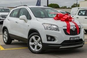 2016 Holden Trax TJ MY16 LTZ White 6 Speed Automatic Wagon Thornleigh Hornsby Area Preview
