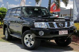 2013 Nissan Patrol Y61 GU 8 ST Black 5 Speed Manual Wagon Windsor Brisbane North East Preview