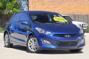 2012 Hyundai i30 GD Active Blue 6 Speed Sports Automatic Hatchback Toowoomba Toowoomba City Preview