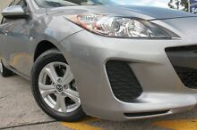 2013 Mazda 3 BL MY13 Neo Grey 5 Speed Automatic Hatchback Arncliffe Rockdale Area Preview