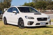 2014 Subaru WRX V1 MY15 STI AWD Crystal White 6 Speed Manual Sedan Mindarie Wanneroo Area Preview