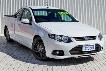 2012 Ford Falcon FG MkII XR6 Ute Super Cab White 6 Speed Auto Seq Sportshift Utility Embleton Bayswater Area Preview