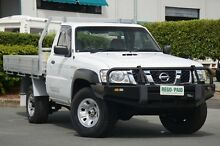 2012 Nissan Patrol GU 6 Series II DX Polar White 5 Speed Manual Cab Chassis Acacia Ridge Brisbane South West Preview