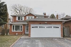 Gorgeous 3 Br 2 Story Detached House + 2Br Finished Basement