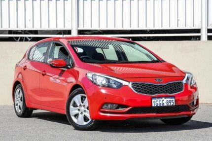 2015 Kia Cerato YD MY15 S Red 6 Speed Automatic Hatchback Cannington Canning Area Preview
