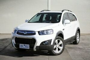 2012 Holden Captiva CG Series II White 6 Speed Sports Automatic Wagon Frankston Frankston Area Preview