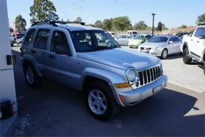 2006 Jeep Cherokee KJ MY2006 Limited Silver 4 Speed Automatic Wagon
