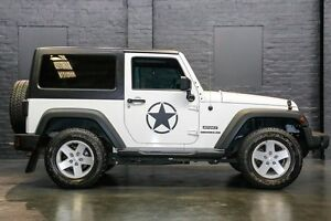 2011 Jeep Wrangler JK MY2010 Sport White 6 Speed Manual Softtop Northbridge Perth City Area Preview