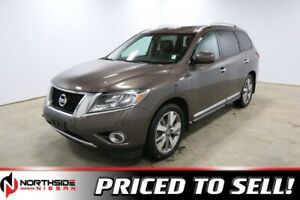 2015 Nissan Pathfinder 4WD PLATINUM Navigation,  Leather,  Heate