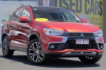 2017 Mitsubishi ASX XC MY17 XLS Red 6 Speed Sports Automatic Wagon