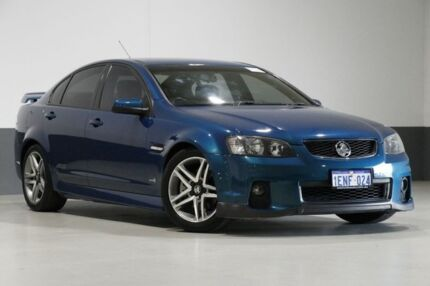 2012 Holden Commodore VE II MY12 SS Green 6 Speed Manual Sedan Bentley Canning Area Preview