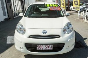 2011 Nissan Micra K13 ST White 4 Speed Automatic Hatchback Cleveland Redland Area Preview