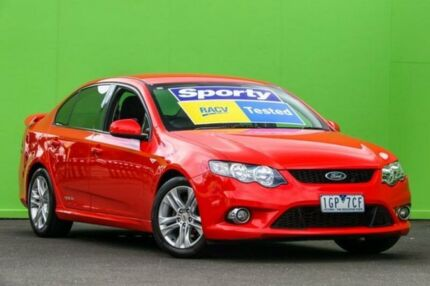 2011 Ford Falcon FG XR6 Red 6 Speed Sports Automatic Sedan Ringwood East Maroondah Area Preview