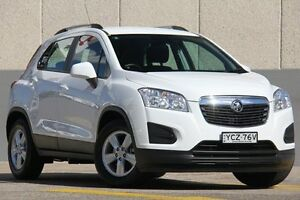 2015 Holden Trax TJ MY15 LS White 6 Speed Automatic Wagon Wolli Creek Rockdale Area Preview