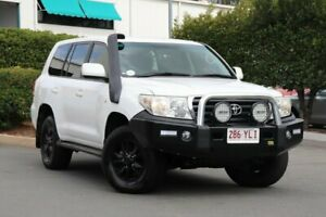 2008 Toyota Landcruiser VDJ200R GXL White 6 Speed Sports Automatic Wagon Acacia Ridge Brisbane South West Preview