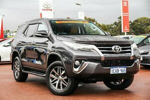 2015 Toyota Fortuner GUN156R Crusade Graphite 6 Speed Automatic Wagon Wangara Wanneroo Area Preview