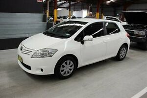 2012 Toyota Corolla ZRE152R MY11 Ascent White 4 Speed Automatic Hatchback Maryville Newcastle Area Preview