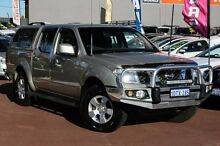 2011 Nissan Navara D40 ST Beige 6 Speed Manual Utility Cannington Canning Area Preview