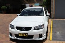 2012 Holden Commodore VE II MY12 SS Thunder White 6 Speed Manual Utility South Maitland Maitland Area Preview