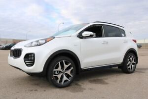 2019 Kia Sportage AWD SX TURBO 2.0L TURBOCHARGED ENGINE, LEATHER