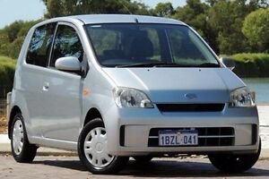 2005 Daihatsu Charade L251RS Silver 4 Speed Automatic Hatchback Glendalough Stirling Area Preview