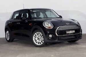 2015 Mini Hatch F55 Cooper Midnight Black 6 Speed Automatic Hatchback Alexandria Inner Sydney Preview