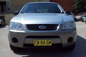 2007 Ford Territory SY MY07 Upgrade TS (RWD) Silver 4 Speed Auto Seq Sportshift Wagon