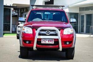 2007 Mazda BT-50 UNY0E3 SDX Red 5 Speed Automatic Utility