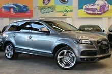 2012 Audi Q7 MY12 TDI Tiptronic Quattro Grey 8 Speed Sports Automatic Wagon Southbank Melbourne City Preview