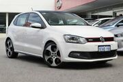 2013 Volkswagen Polo 6R MY13.5 GTI DSG White 7 Speed Sports Automatic Dual Clutch Hatchback Osborne Park Stirling Area Preview