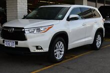 2015 Toyota Kluger GSU50R GX 2WD Crystal Pearl 6 Speed Sports Automatic Wagon Claremont Nedlands Area Preview