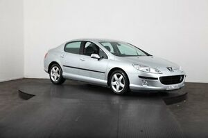 2004 Peugeot 407 ST Comfort Silver 6 Speed Manual Sedan McGraths Hill Hawkesbury Area Preview