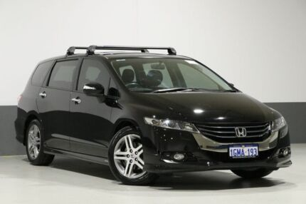 2010 Honda Odyssey RB Luxury Black 5 Speed Automatic Wagon Bentley Canning Area Preview