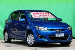 2012 Hyundai i20 PB MY12 Active Blue 4 Speed Automatic Hatchback Ringwood East Maroondah Area Preview