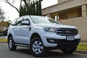 2018 Ford Everest UA II 2019.00MY Ambiente RWD Arctic White 6 Speed Sports Automatic Wagon Medindie Walkerville Area Preview