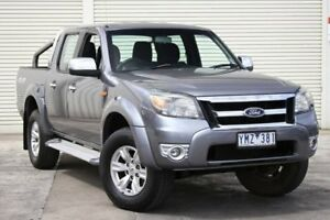 2011 Ford Ranger PK XLT Crew Cab Grey 5 Speed Manual Utility