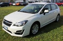 2015 Subaru Impreza G4 MY15 2.0i Lineartronic AWD White 6 Speed Constant Variable Hatchback Burnie Burnie Area Preview
