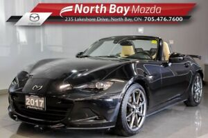 2017 Mazda MX-5 GT Auto with Spoiler, Black Badging, Ivory Leath
