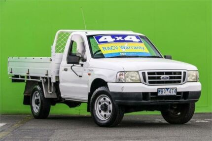 2005 Ford Courier PH GL White 5 Speed Manual Cab Chassis Ringwood East Maroondah Area Preview