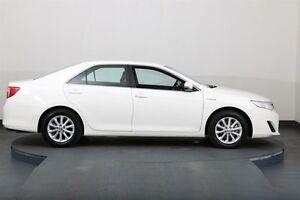 2014 Toyota Camry AVV50R Hybrid H White Continuous Variable Sedan Smithfield Parramatta Area Preview