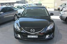 2008 Mazda 6 GH Classic Black 5 Speed Auto Activematic Wagon Mitchell Gungahlin Area Preview