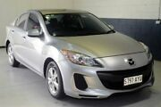 2013 Mazda 3 BL10F2 MY13 Neo Activematic Silver 5 Speed Sports Automatic Sedan Hillcrest Port Adelaide Area Preview