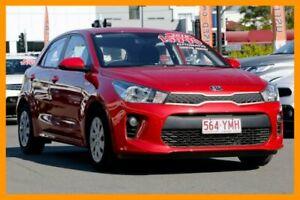 2018 Kia Rio YB MY18 S Signal Red 4 Speed Sports Automatic Hatchback Mount Gravatt Brisbane South East Preview