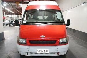 2003 Ford Transit VH Mid (LWB) Red 5 Speed Manual Smartshift Van Pennington Charles Sturt Area Preview