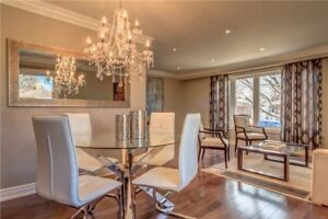 STUNNING NEWLY RENOVATED 3 BEDROOM APARTMENT