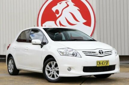 2011 Toyota Corolla ZRE152R MY11 Ascent Sport White 6 Speed Manual Hatchback Lansvale Liverpool Area Preview