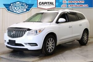 2017 Buick Enclave Leather AWD*Sunroof-7 Passenger*