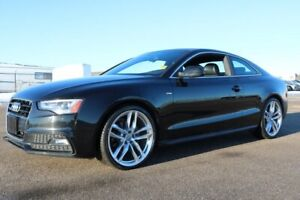 2015 Audi A5 AWD TECHNIK PACKAGE Navigation (GPS),  Leather,  H