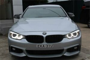 2014 BMW 428i F32 MY14 Sport Line Silver 8 Speed Automatic Coupe Five Dock Canada Bay Area Preview