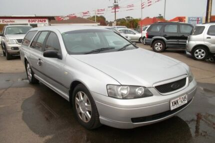 2004 Ford Falcon BA MkII XT Silver 4 Speed Auto Seq Sportshift Wagon Woodville Park Charles Sturt Area Preview